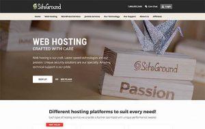 關於SiteGround