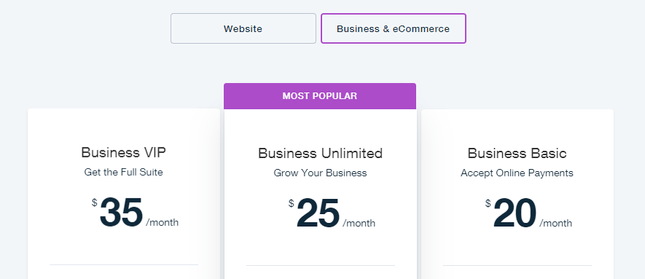 wix網路商店價格