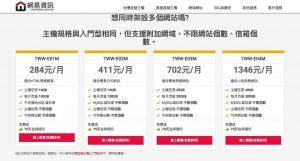 台灣虛擬主機 多網站型 ,適合想架設多個網站的您 網易資訊