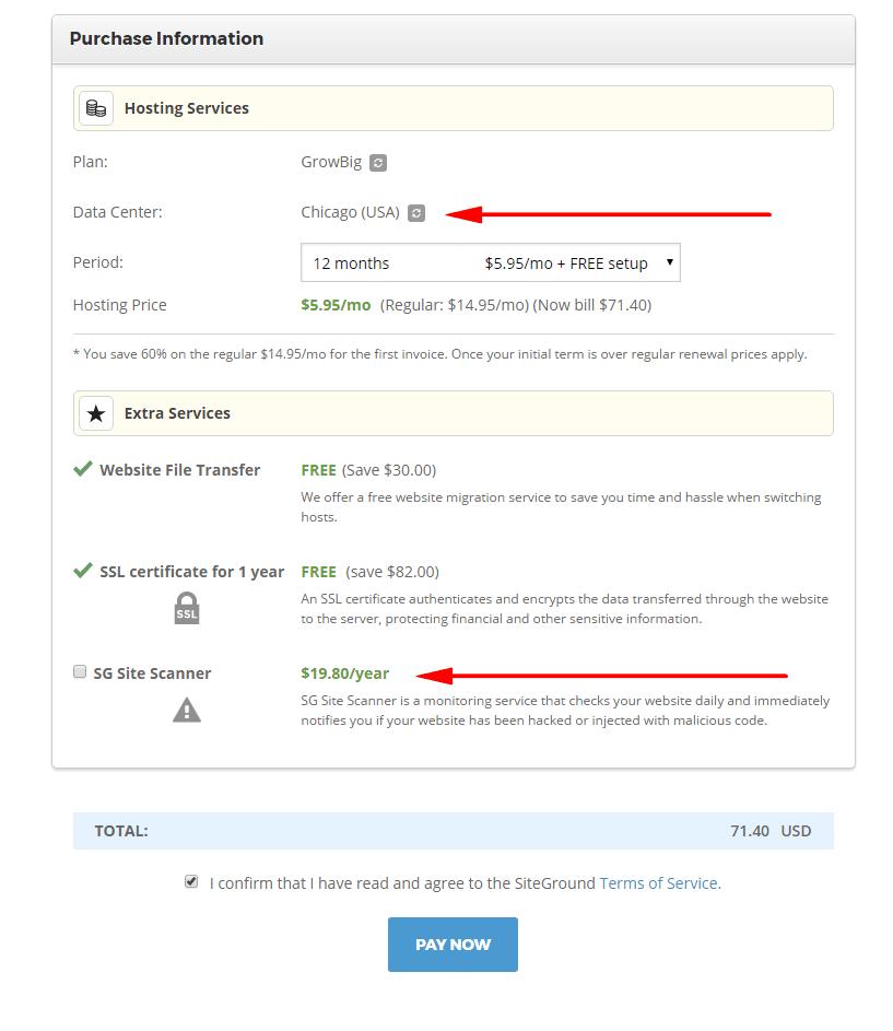 siteground-hosting帳戶註冊