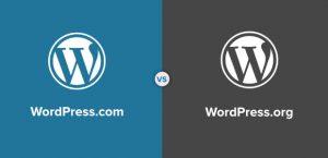 WordPress.org 與 WordPress.com 差異